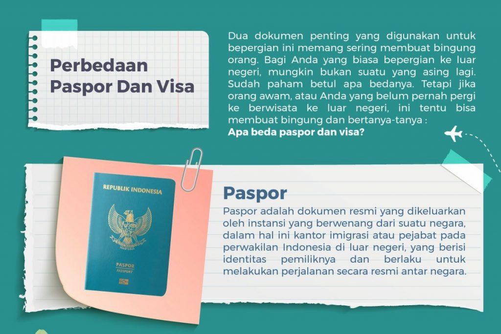 Beda Pasor dan Visa