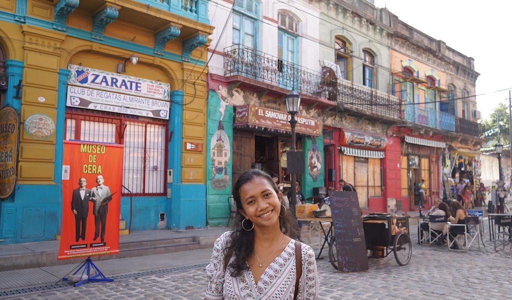 Traveling La Boca Buenos Aires Argentina