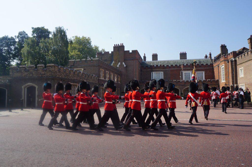 Parade Prajurit Inggris