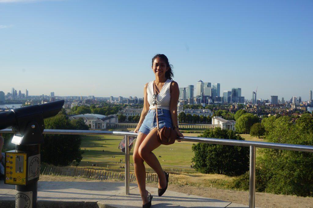 Berpose di Greenwich London