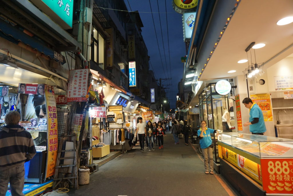 Street market di malam hari Taipei 2016