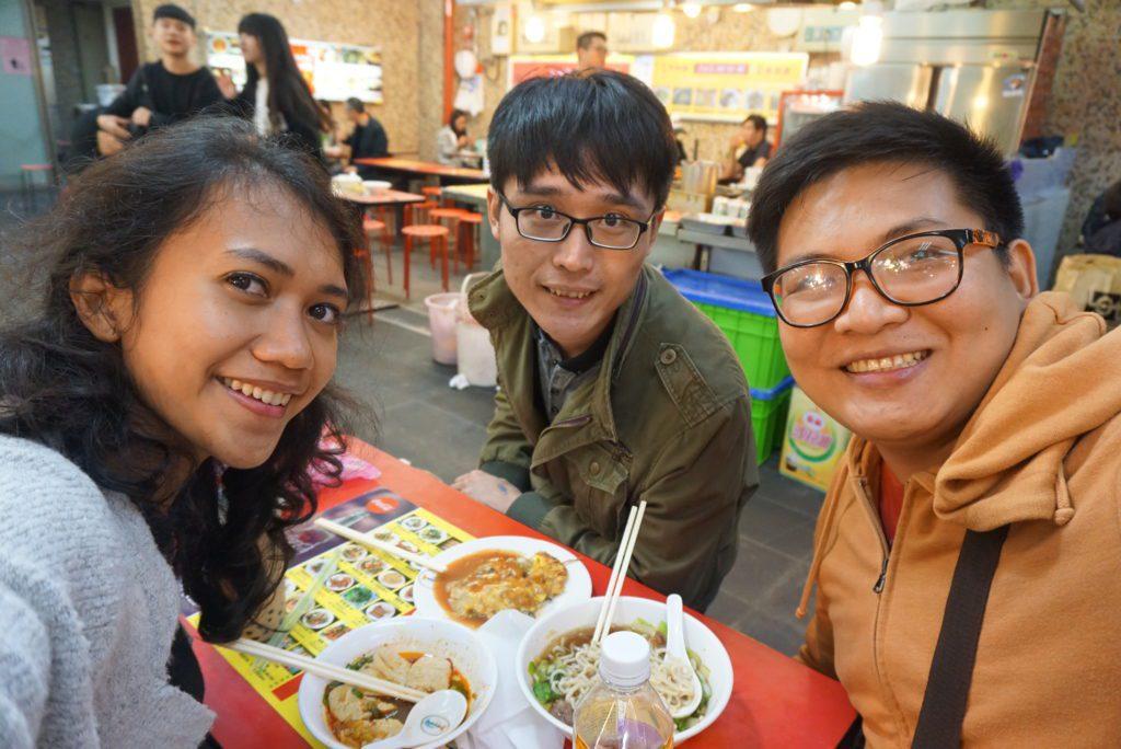 Makan Taiwanese Food di Taipei