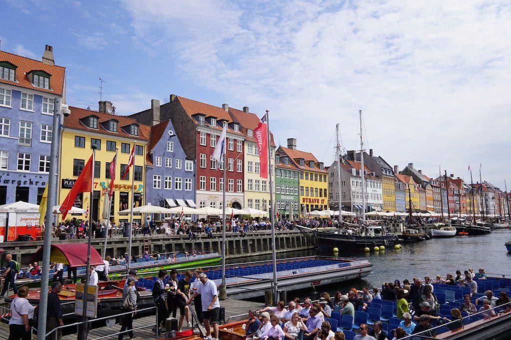 Nyhavn Copenhangen 2017