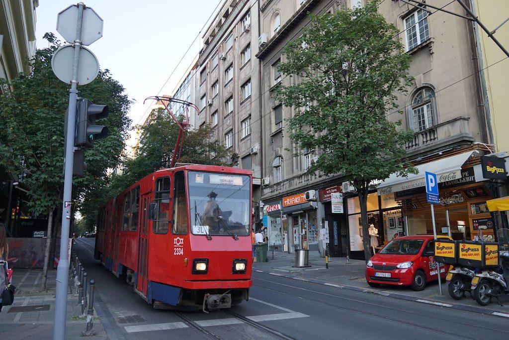 Tram Tua di Belgrade, Serbia 2017