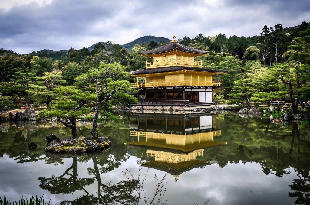 Kinkaku-temple