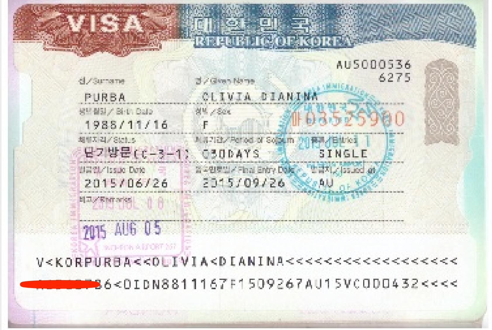 Cara Membuat Visa Korea Paspor Indonesia
