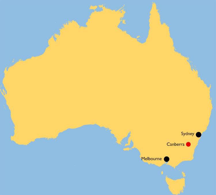 Ibukota Australia Canberra