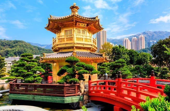 Golden Pavilion, Nan Lian Garden, Chi Lin