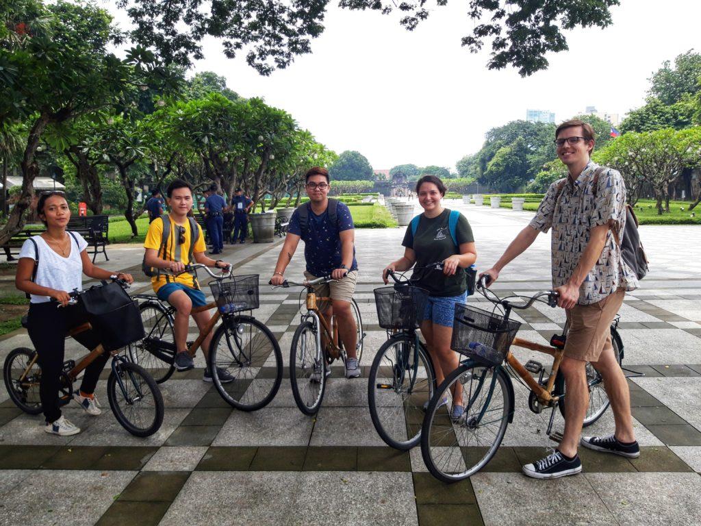 Biking Manila