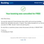 Cara Batalkan Pesanan Kamar Full Refund Karena Virus Corona via Booking Com