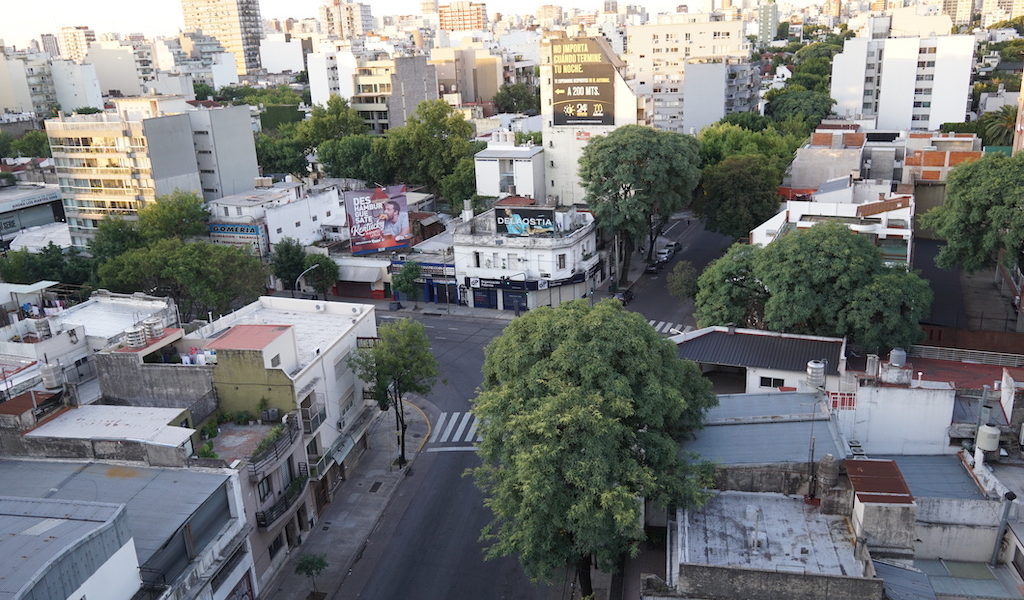 jalanan sepi Buenos Aires