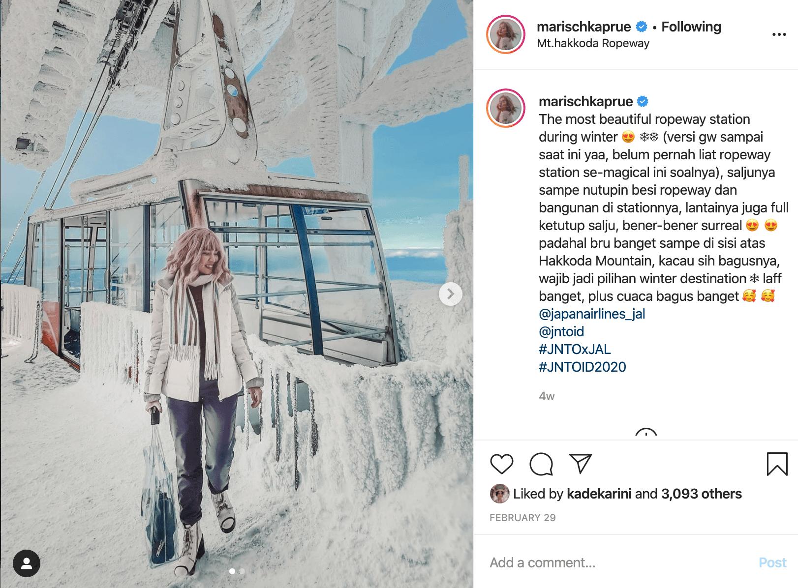 marischka prudence travel blogger indonesia