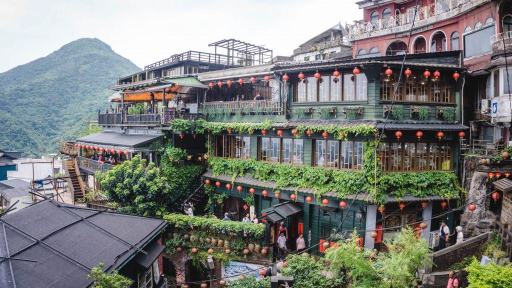 Pemandangan Wisata Traveling Taiwan