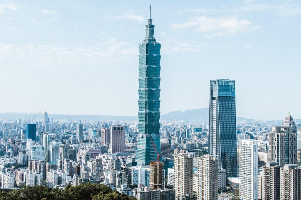 travel Taiwan 101 Building