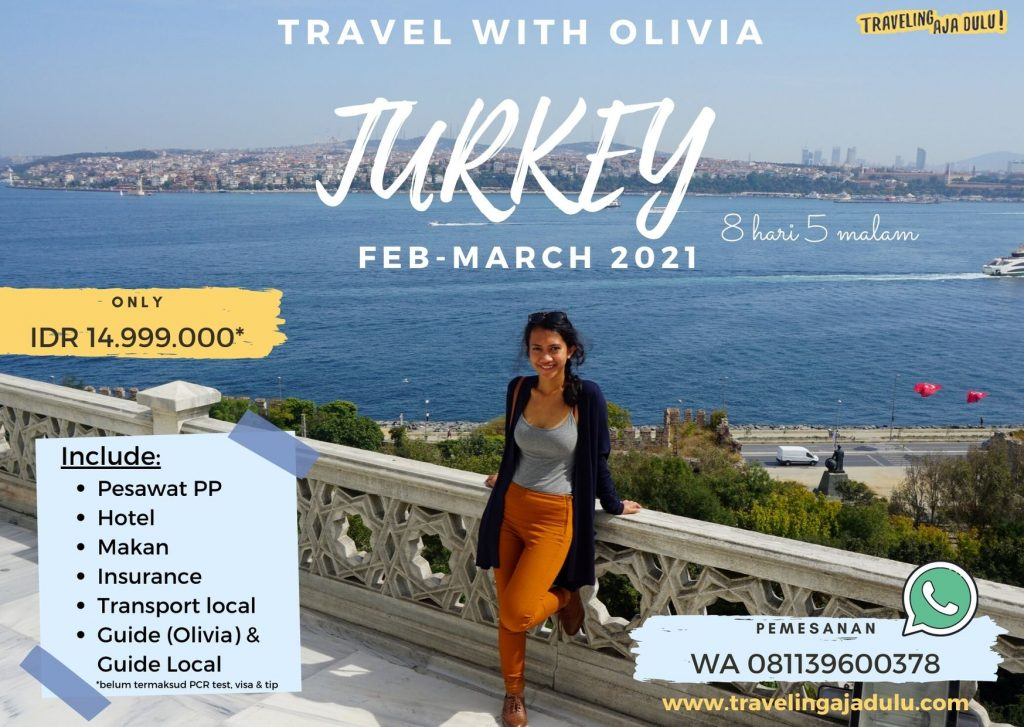 Traveling ke Turki With Olivia