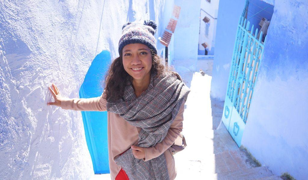 Traveling di chefchaouen maroko